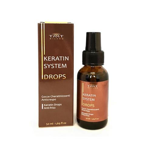 Keratin Drops Gocce Cheratinizzanti Anticrespo 50 ml Capelli TMT