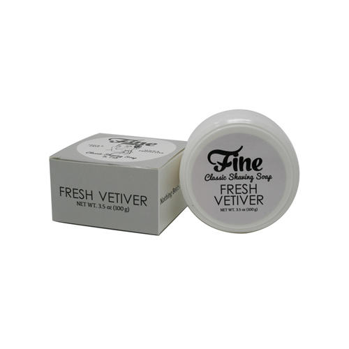 Sapone da barba Fresh Vetiver Fine 100 gr. Barba & Baffi Fine