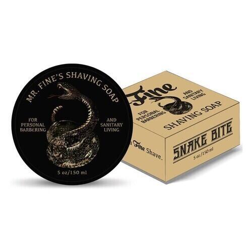 Sapone da barba Snake Bite Fine New Formula 150 gr.