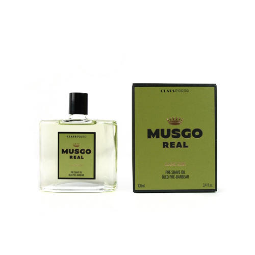 Pre Shave Oil Classic Scent Musgo Real 100 ml.