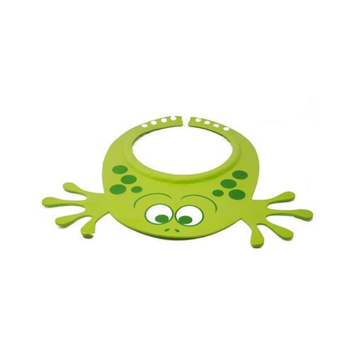 Visiera Protettiva per bambino Verde Antilacrime Frog