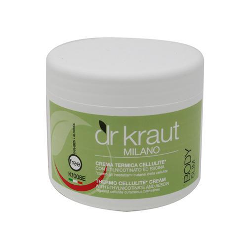 Crema Termica Cellulite Etilnicotinato ed Escina Dr. Kraut K1008E  500 m