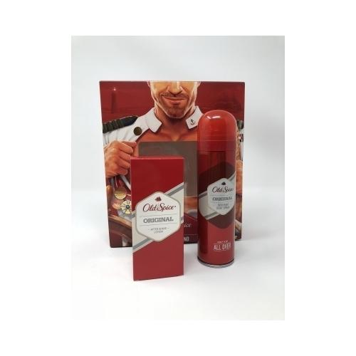 Kit Old Spice After Shave Original 100 ml + Deodorante Spray Original 15