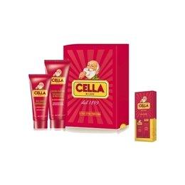 Kit Idea Regalo Rasatura Cella 1 Crema Rasatura + 1 Balsamo Dopobarba