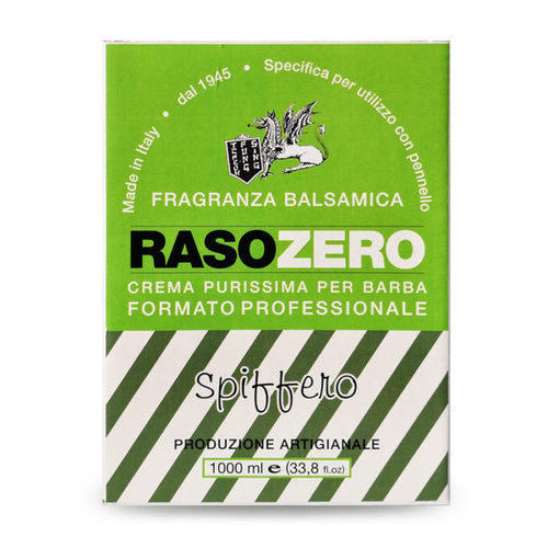 Crema da Barba Spiffero Rasozero Panetto 1000 ml