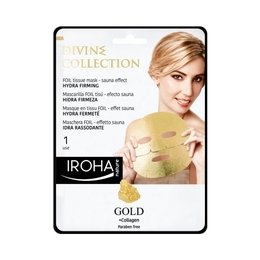 Maschera FOIL Eff. Sauna Idra Rassodante GOLD Divine Collection Ioha