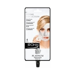 Maschera PEEL-OFF Illuminante PLATINUM Divine Collection Ioha 25 ml.