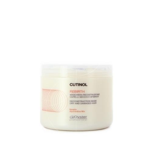 Maschera per capelli Ristrutturante Rebirth Cutinol 500 ml Oyster