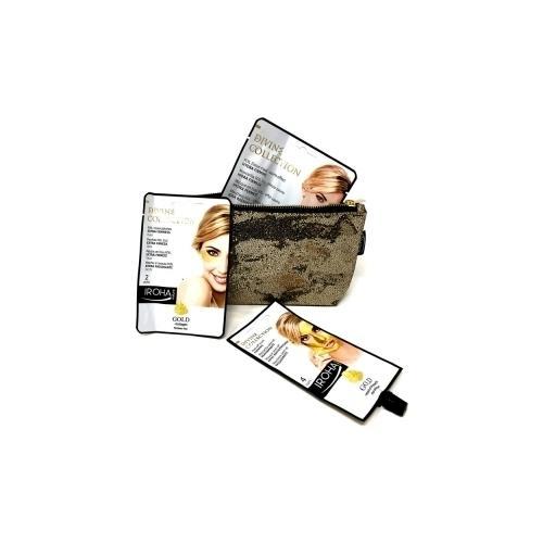 Pochette 24K Oro Iroha Masque Peel Off/ masque Foil/ Patch Foil