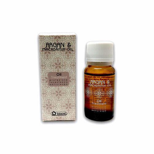 Olio per Capelli Oil Ampolla singola Argan e Macadamia Biacrè 10 ml