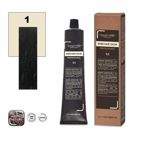 Nabe' Hair Color nr. 1 Nero Togethair 100 ml