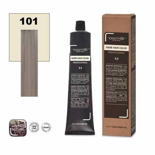Nabe' Hair Color nr. 101 Biondo Extra Chiaro Cenere Togethair 100 ml