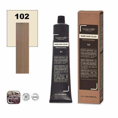Nabe' Hair Color nr. 102 Biondo Extra Chiaro Beige Togethair 100 ml
