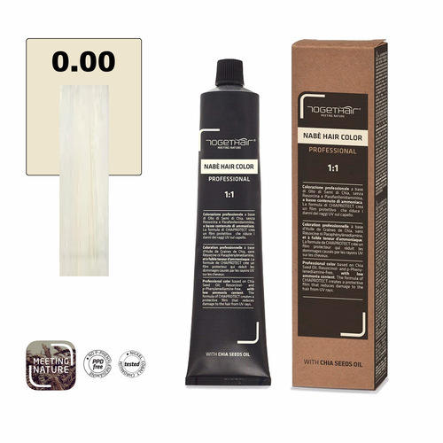Nabe' Hair Color nr. 0.00 Extra Bianco Togethair 100 ml