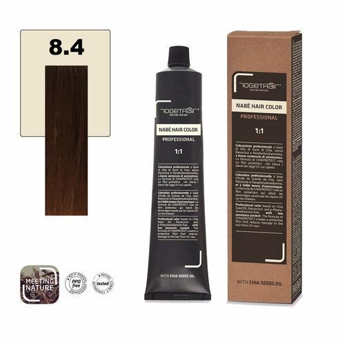 Nabe' Hair Color nr. 8.4 Biondo Chiaro Rame Togethair 100 ml