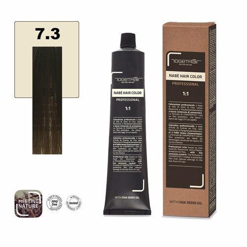 Nabe' Hair Color nr. 7.3 Biondo Dorato Togethair 100 ml