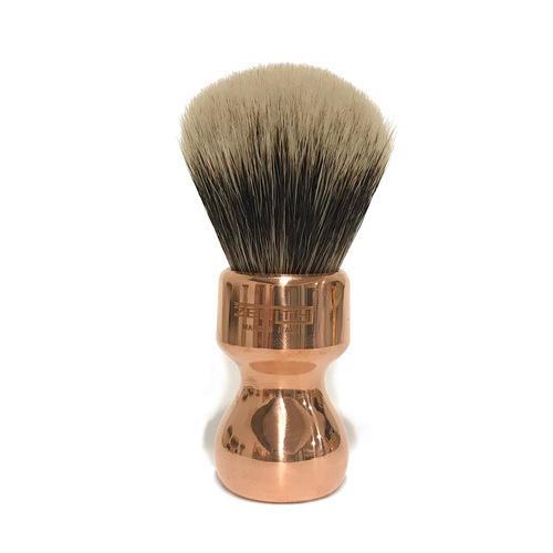 Pennello Barba Manico Rame Ciuffo Manchurian Zenith 506 Copper PP21