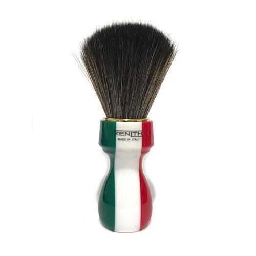 Pennello Barba Manico Resina Italia Ciuffo Synt Dark Zenith 507IF
