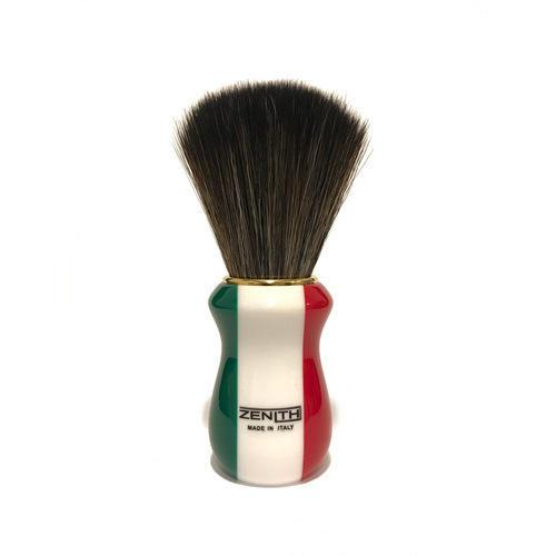 Pennello Barba Manico Resina Italia Ciuffo Synt Dark Zenith 502IF