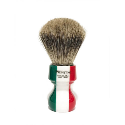 Pennello Barba Manico Resina Italia Ciuffo Best Badger Zenith 506IF PP21