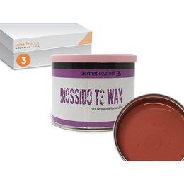 Cera epilazione liposolubile Biossido T3 Wax 3 vasi da 400 ml cad.