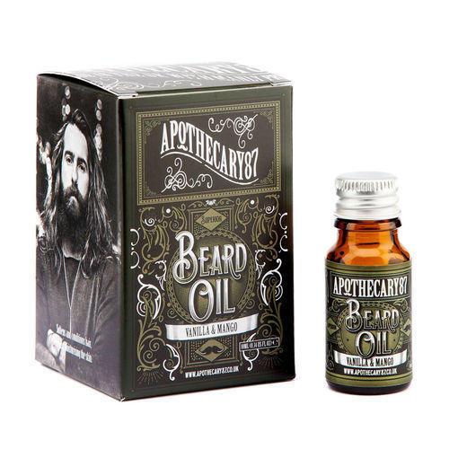 Olio per Barba Vaniglia e Mango Apothecary87 10 ml