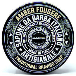 Sapone da Barba Artigianale Amber Fougere Loop Goodfellas 100 gr