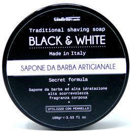 Sapone da Barba Artigianale Black e White Goodfellas 100 gr