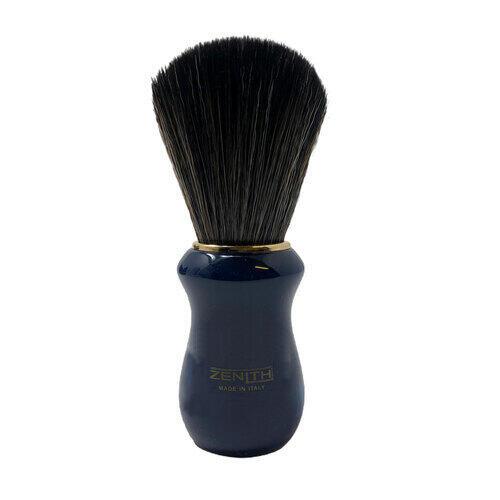 Pennello Barba Manico Blu Cobalto Ciuffo Synt Dark Zenith 502BCK SD