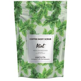 Scrub Corpo Menta Rinfrescante con Caffe Amovita 200 Gr