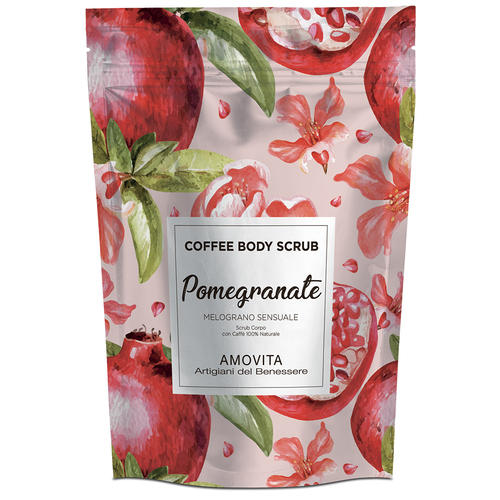Scrub Corpo Melograno Sensuale con Caffe Amovita 200 Gr