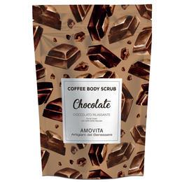 Scrub Corpo Cioccolato Rilassante con Caffe Amovita 200 Gr