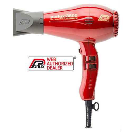 Phon Parlux 3800 Ion & Ceramic Eco Friendly ROSSO