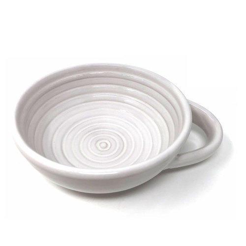 Ciotola Ceramica per Saponata Avorio Zenith PP21