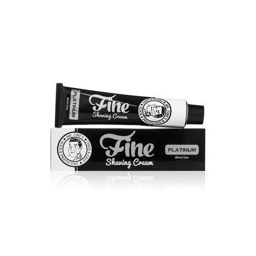 Crema da barba Platinum Fine tubo 100 ml