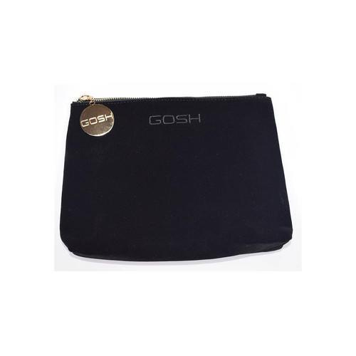 Pochette Trucco Black Velour Cosmetic Bag Small Gosh