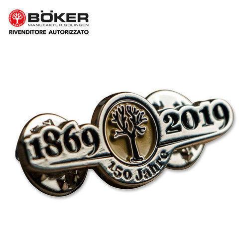 Pin Anniversary 150 Years Boker