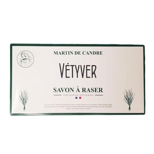 Sapone da Rasatura in Foglio Vetyver Martin de Candre