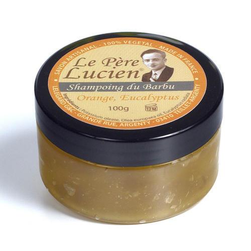 Shampoo da Barba Orange Eucalyptus Le Pere Lucien 100 Gr