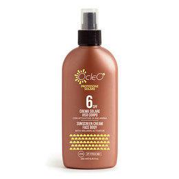 Crema Solare Viso/Corpo Spray SPF 6 Ocleo 250 ml