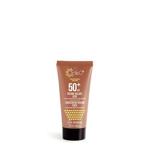 Crema Solare Viso 50+ SPF Ocleo 50 ml