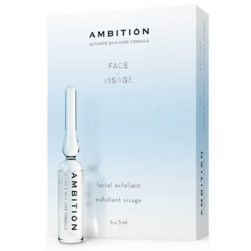 Esfoliante Viso Face Exfoliant Ambition fiala 6 x 3 ml. cad.
