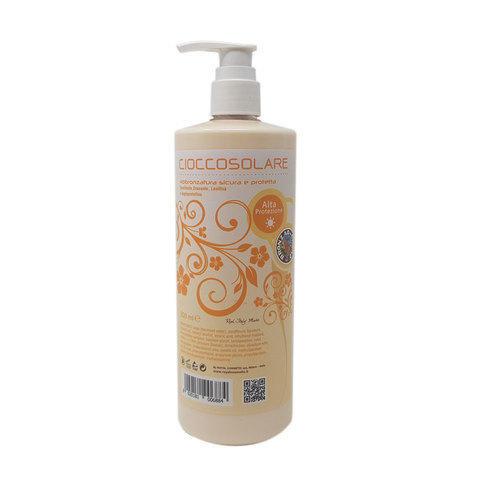 Solare Abbronzante Alta Protezione Linea Gialla Cioccosolare 500 ml