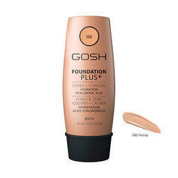 Foundation Plus + 006 fondotinta con Acido Ialuronico 30 ml Gosh