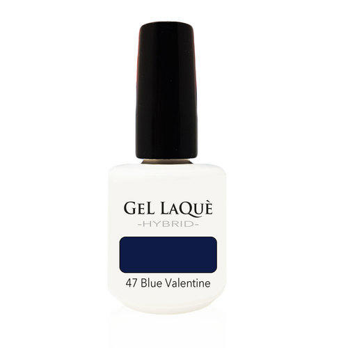 Smalto Gel Gel Laquè Hybrid 47 Blue Valentine 15 ml.