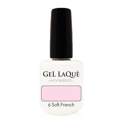 Smalto Gel Gel Laquè Hybrid 6 Soft French 15 ml.
