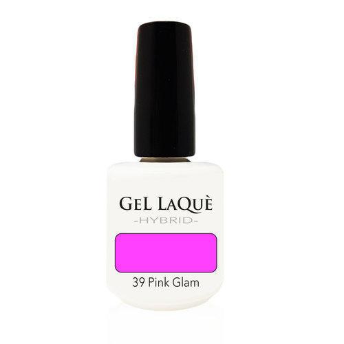 Smalto Gel Gel Laquè Hybrid 39 Pink Glam 15 ml.