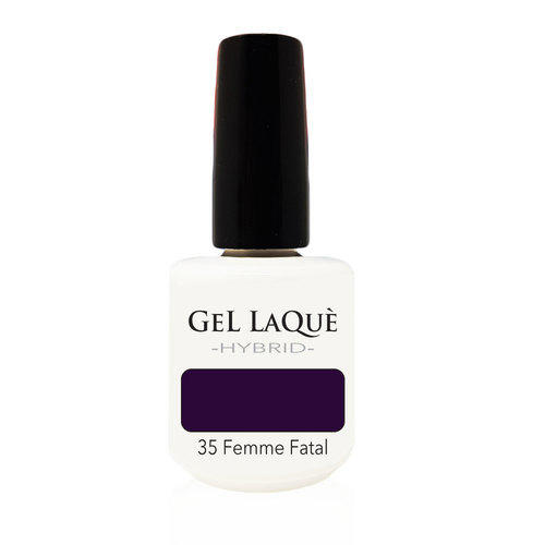 Smalto Gel Gel Laquè Hybrid 35 Femme Fatal 15 ml.