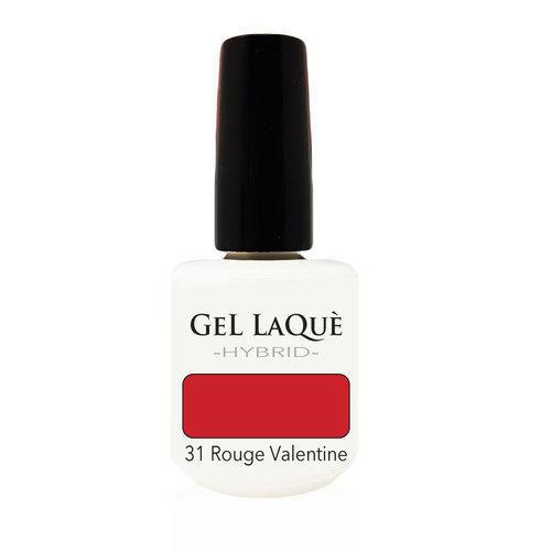 Smalto Gel Gel Laquè Hybrid 31 Rouge Valentine 15 ml.