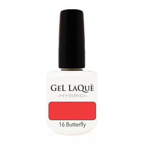 Smalto Gel Gel Laquè Hybrid 16 Butterfly 15 ml.